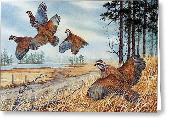 The Hunt  Sold Greeting Card