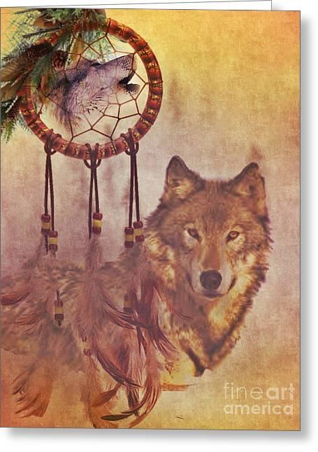 The Huntress Greeting Card