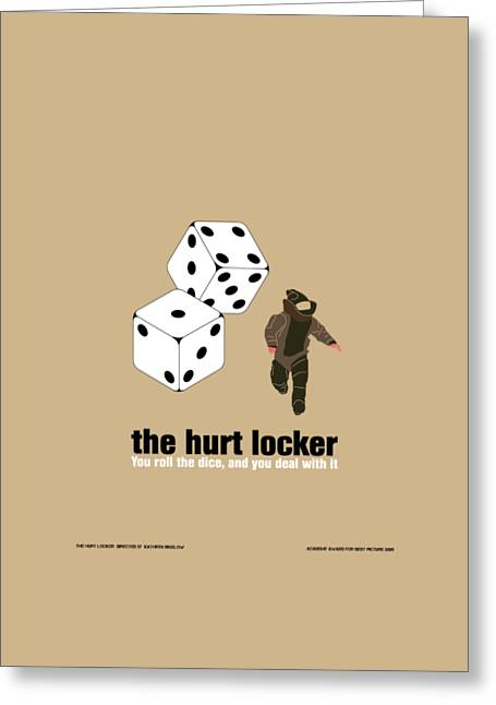 The Hurt Locker Greeting Card by Gimbri