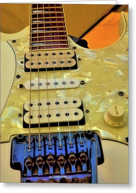 The Ibanez Guitar 2 Greeting Card