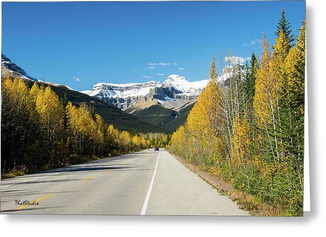 The Icefields Parkway Greeting Card