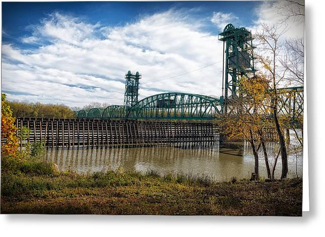 Greeting Card featuring the photograph The Illinois River by Cindy Lark Hartman
