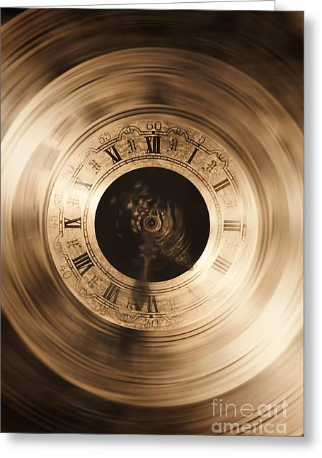 The Illusion Of Time Greeting Card by Jorgo Photography - Wall Art Gallery