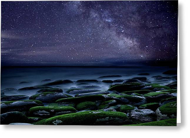Greeting Card featuring the photograph The Immensity Of Time by Jorge Maia