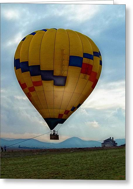 The Impressionable Balloon Greeting Card by Glenn McCarthy Art and Photography
