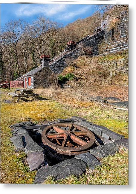 The Incline Greeting Card by Adrian Evans