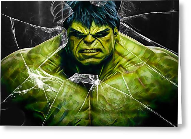 The Incredible Hulk Collection Greeting Card