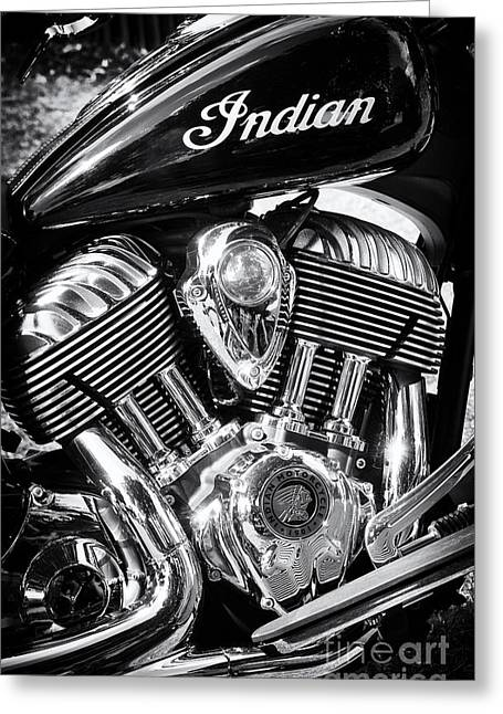 The Indian Chief Motorcycle Greeting Card