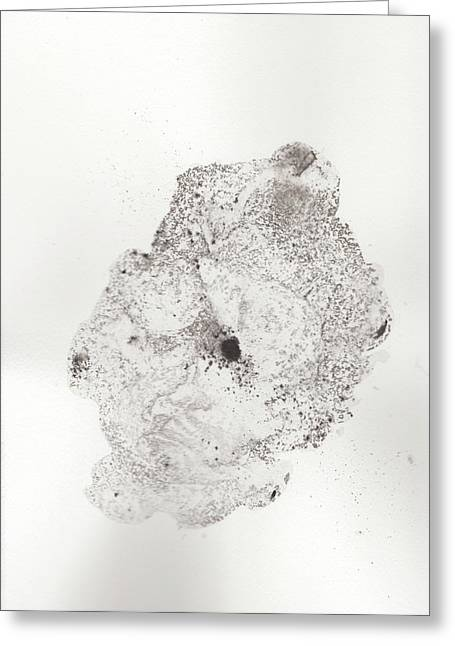 The Inexplicable Ignition Of Time Expanding Into Free Space Phase One Number 16 Greeting Card by Mark M  Mellon