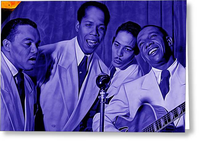 The Ink Spots Collection Greeting Card