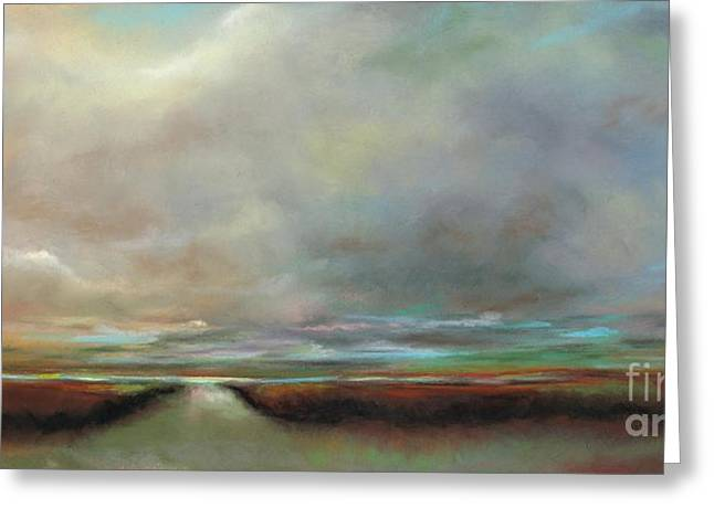 The Inlet Greeting Card by Frances Marino