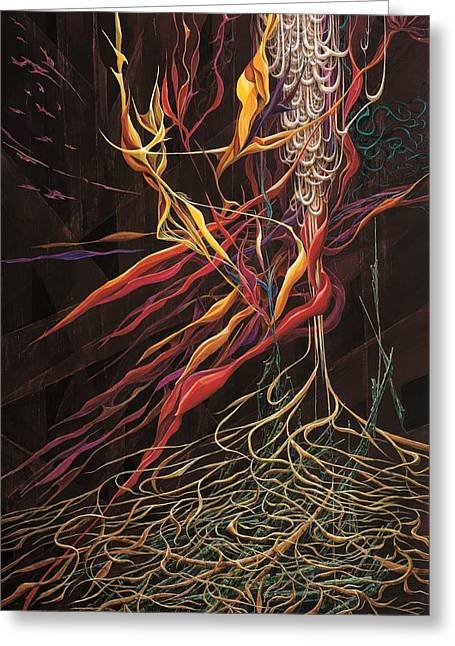 The Intensity Of Dreams Greeting Card by Charles Cater