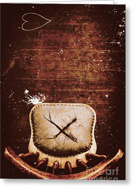 The Interrogation Room Greeting Card by Jorgo Photography - Wall Art Gallery