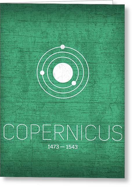 The Inventors Series 001 Copernicus Greeting Card by Design Turnpike