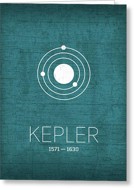 The Inventors Series 003 Kepler Greeting Card by Design Turnpike