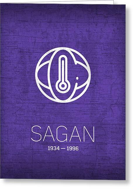 The Inventors Series 005 Sagan Greeting Card