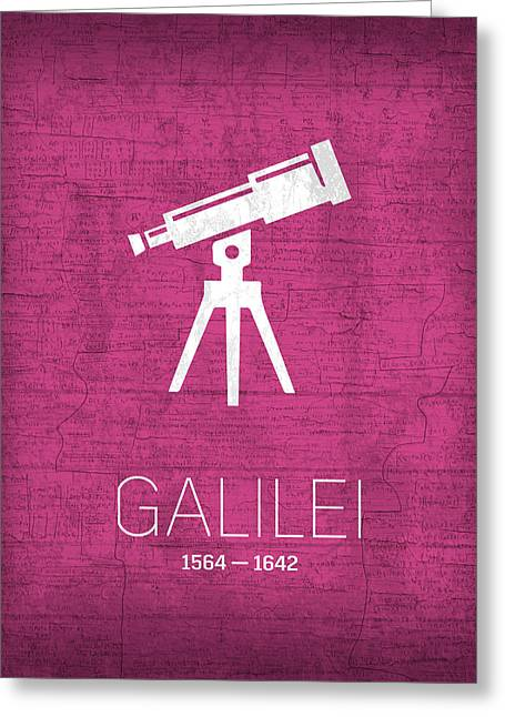 The Inventors Series 007 Galilei Greeting Card by Design Turnpike