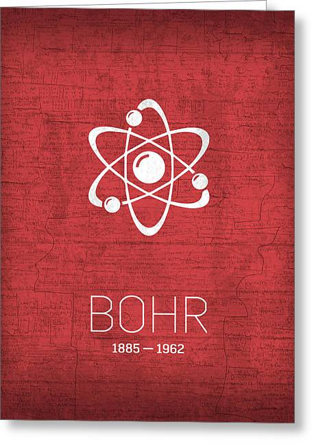 The Inventors Series 008 Bohr Greeting Card by Design Turnpike