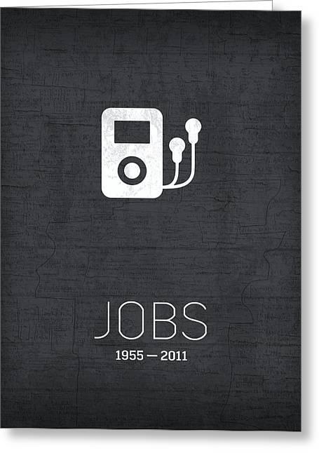 Steve jobs greeting cards fine art america the inventors series 040 steve jobs apple greeting card m4hsunfo