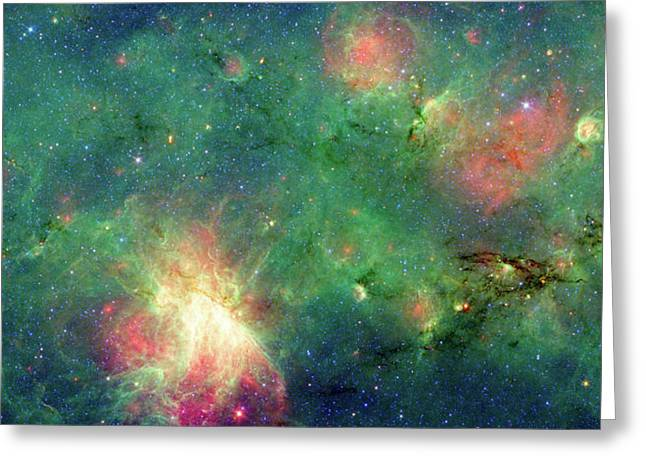 Greeting Card featuring the photograph The Invisible Dragon by NASA JPL-Caltech
