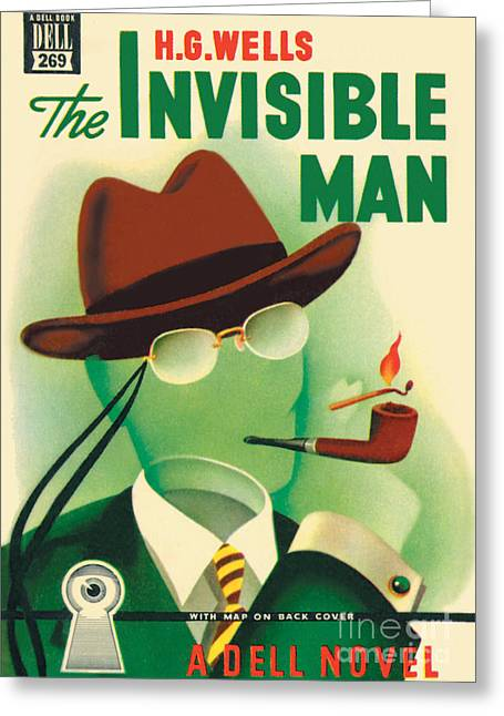The Invisible Man Greeting Card