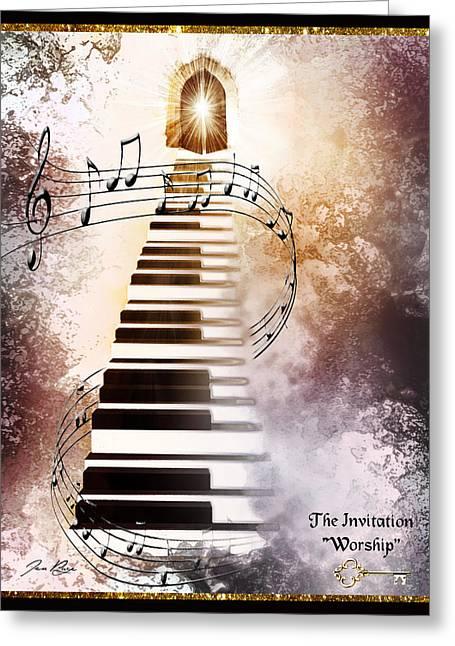 The Invitation- Worship Greeting Card
