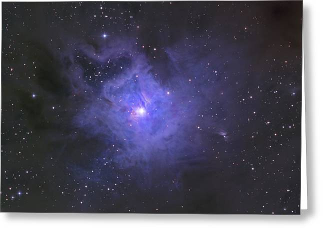 The Iris Nebula Greeting Card by Ken Crawford