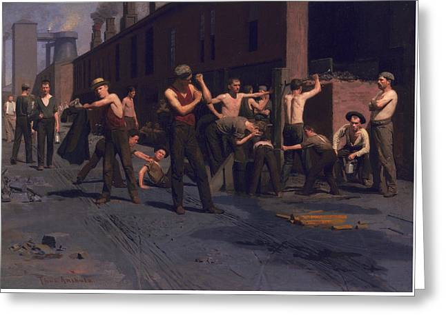 The Ironworkers' Noontime Greeting Card