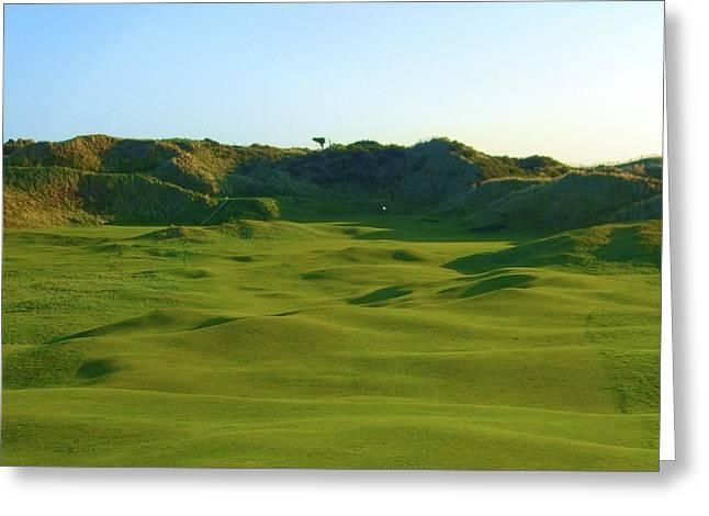 The Island Golf Club - Hole #5 Greeting Card