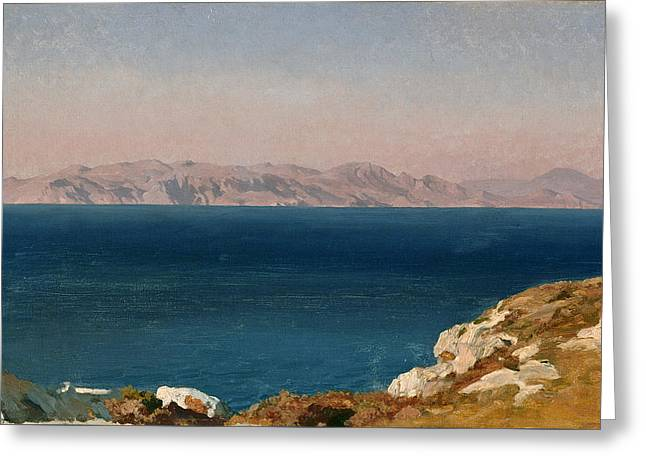The Isle Of Chios Greeting Card