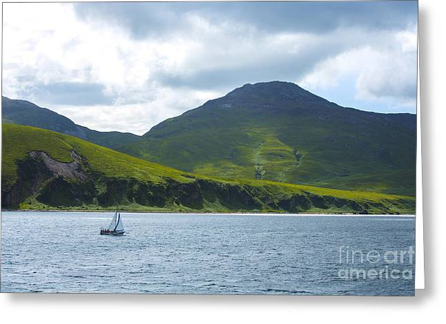 The Isle Of Jura, Scotland Greeting Card by Diane Diederich