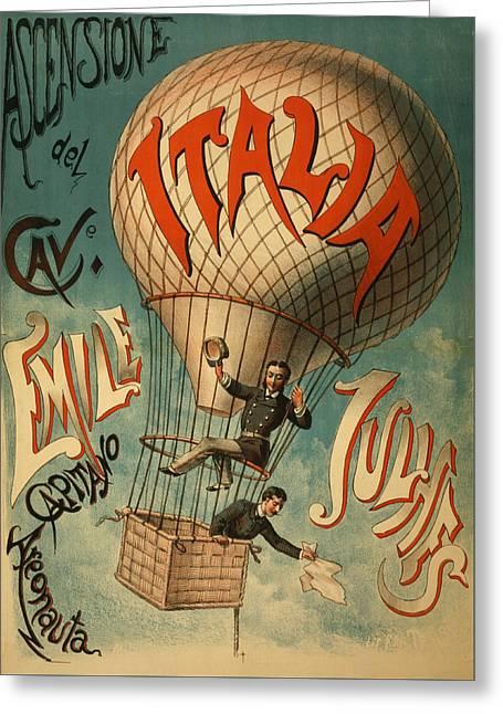 The Italia Ascensione Greeting Card