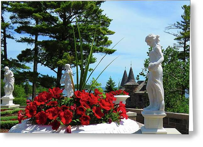 The Italian Garden Greeting Card