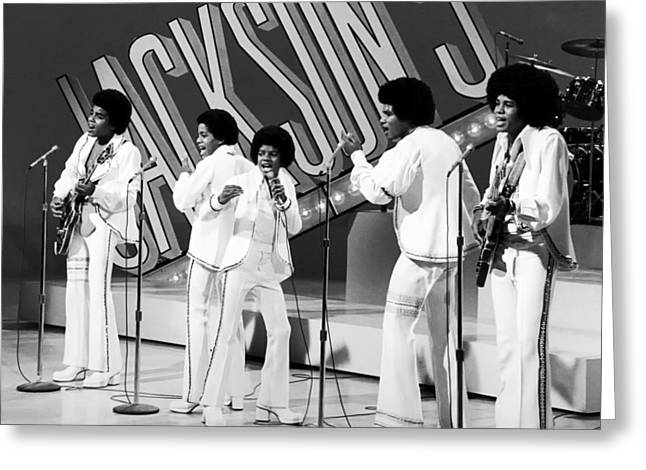 The Jackson 5 1972 Greeting Card