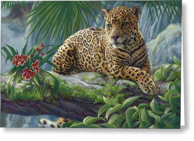 The Jaguar Greeting Card