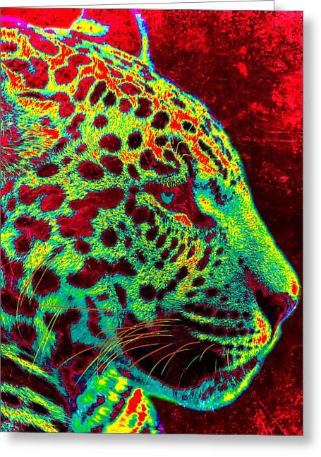The Jaguar Greeting Card