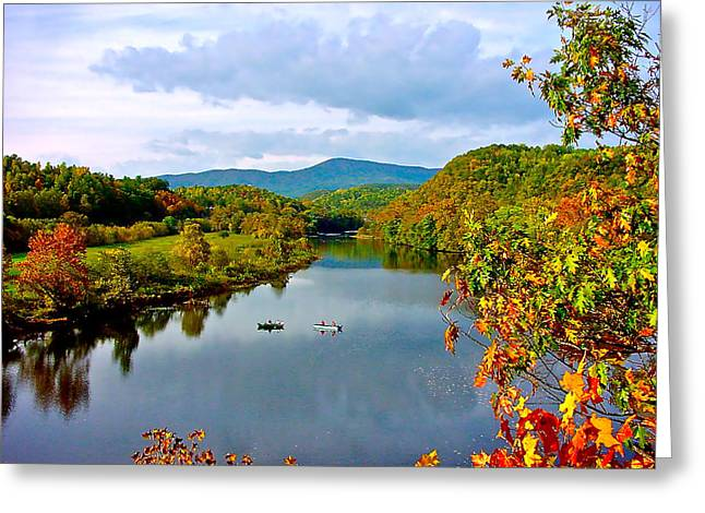 The James River Early Fall Greeting Card