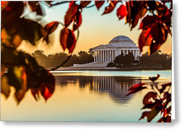 Jefferson In Autumn Greeting Card