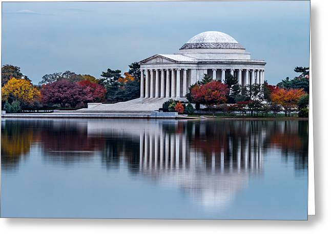 The Jefferson In Baby Blue Greeting Card