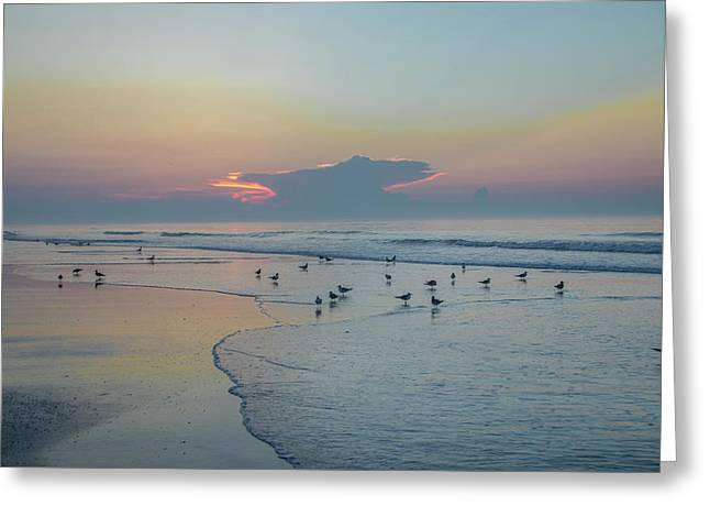 The Jersey Shore - Wildwood Greeting Card by Bill Cannon