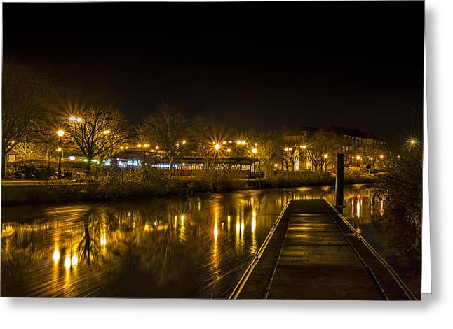 The Jetty Greeting Card by William Hole