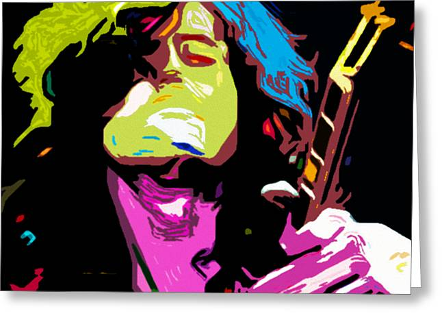 The Jimmy Page By Nixo Greeting Card