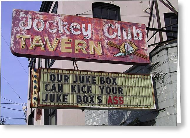 The Jockey Club Greeting Card