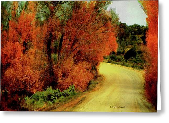 The Journey Home Greeting Card by Lenore Senior