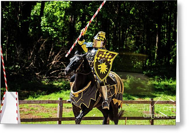 The Jousting Pass Greeting Card