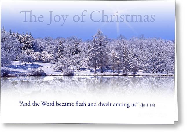 The Joy Of Christmas Greeting Card Greeting Card