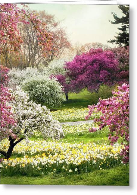 Greeting Card featuring the photograph The Joy Of Spring by Jessica Jenney