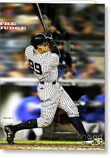 The Judge, Aaron Judge, Number 99, New York Yankees Greeting Card