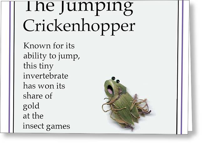 The Jumping Crickenhopper Greeting Card