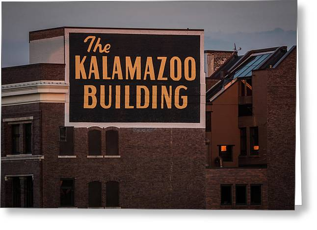 The Kalamazoo Building Greeting Card
